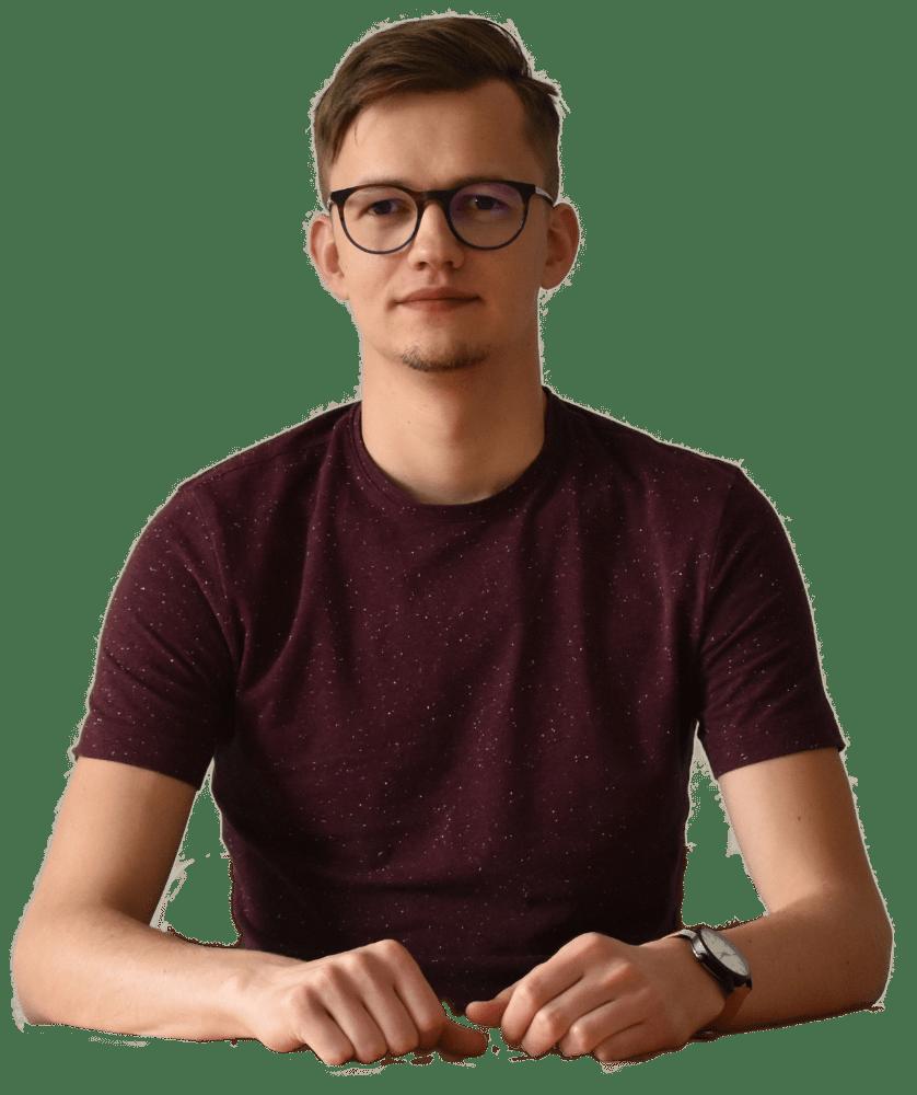 Profilová fotografie UX designera a výzkumníka Marka Malíka